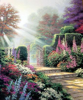 Thomas Kinkade Gardens Of Light Jpg